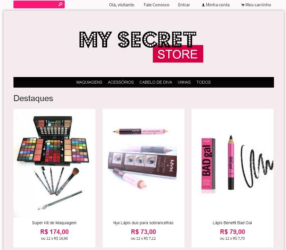loja my secret
