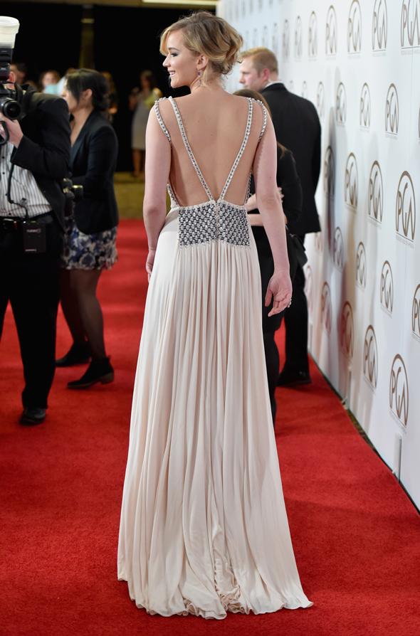 Jennifer Lawrence veste Prada