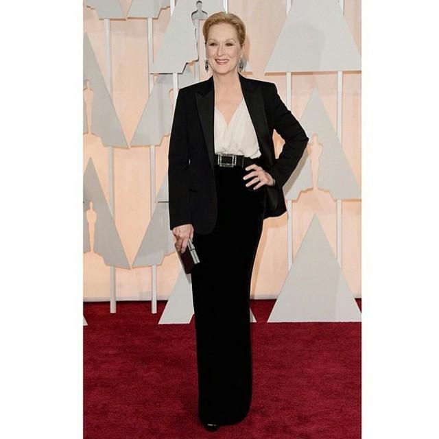 Maryl Streep de Lanvin