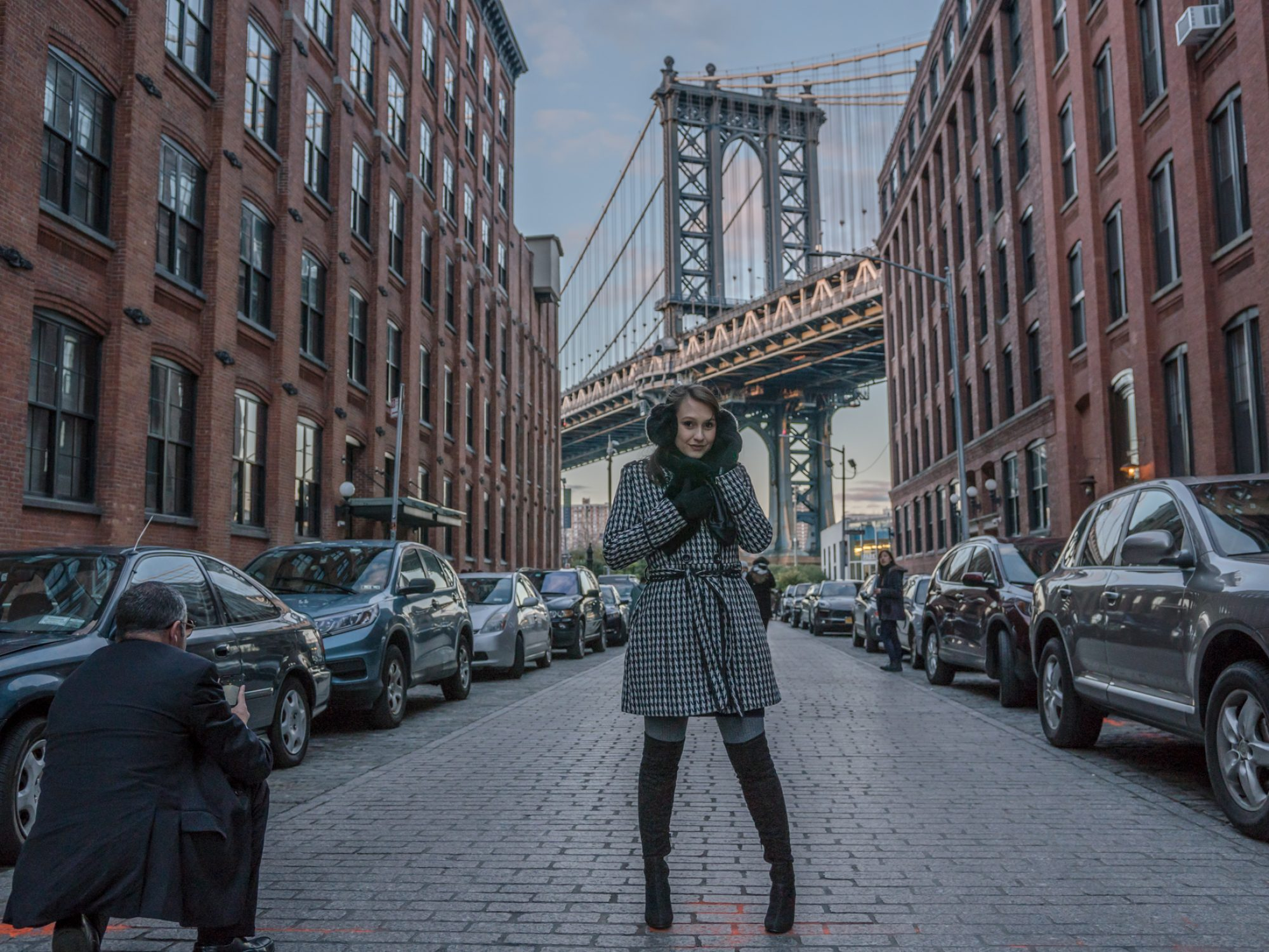 Ensaio no Brooklyn NY, Moda Mundo Circuito