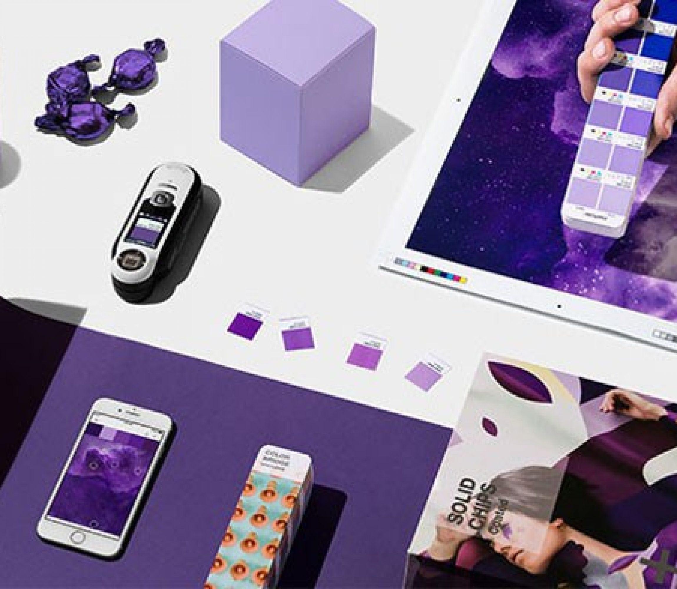 Ultra Violet, a cor de 2018 pela Pantone.