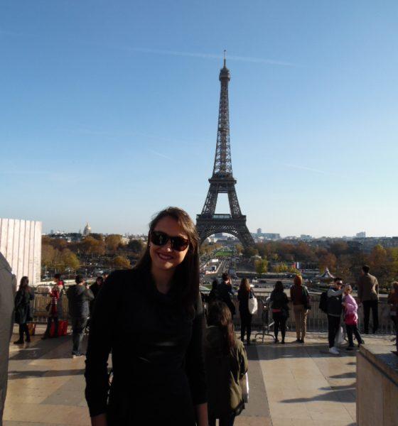 Look do dia, Torre Eiffel, Paris!